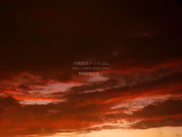 2020/02/14 の朝日/朝焼け
