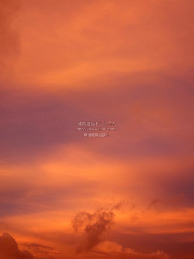 2021/09/12 の朝日/朝焼け