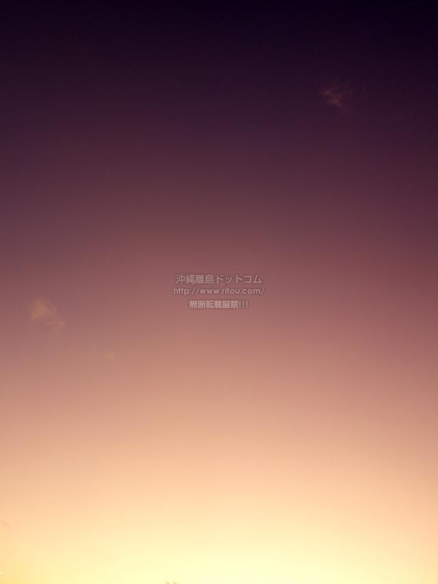 2019/12/10 の夕日/夕焼け