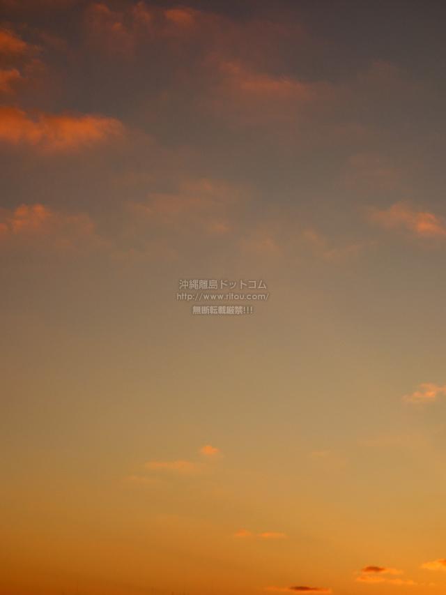 2019/12/14 の夕日/夕焼け