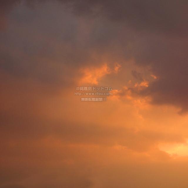 2020/01/30 の夕日/夕焼け
