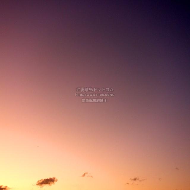 2020/02/19 の夕日/夕焼け
