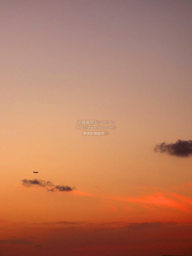 2020/03/17 の夕日/夕焼け