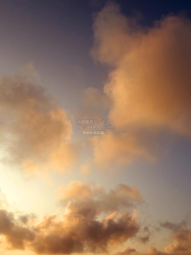 2021/04/13 の夕日/夕焼け