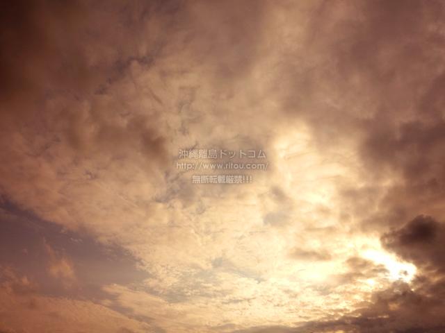 2021/04/15 の夕日/夕焼け