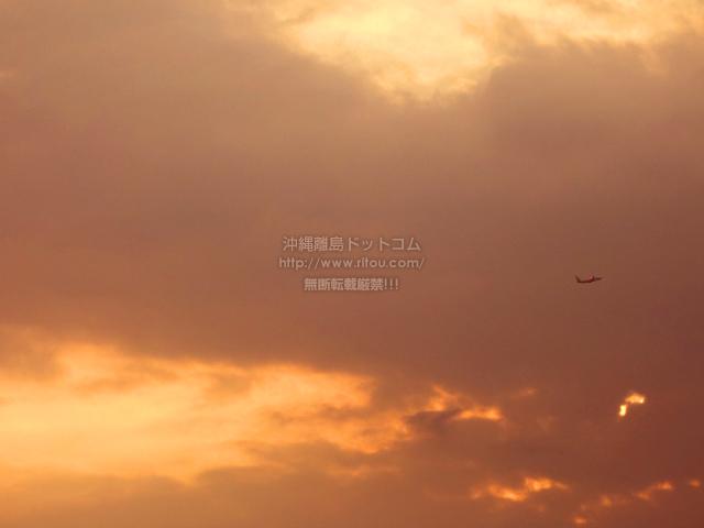 2021/06/19 の夕日/夕焼け