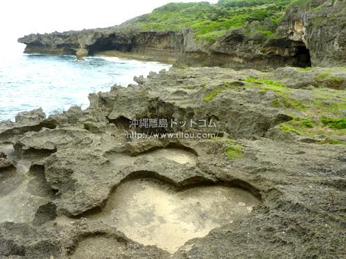 【徳之島】逆ハートロック@徳之島犬の門蓋