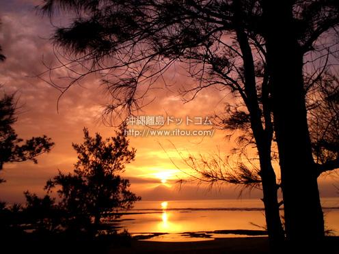【徳之島】喜念浜は朝日の名所