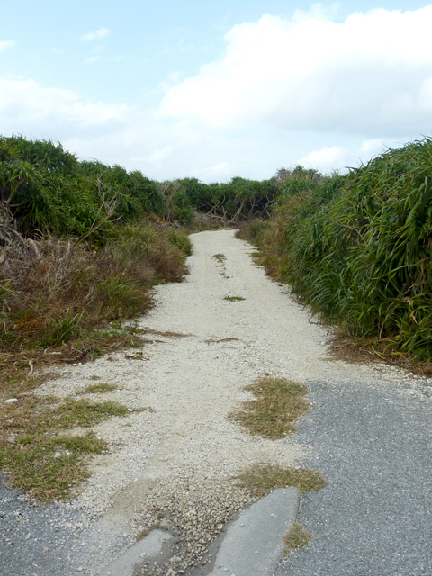 【与那国島】6畳ビーチは穴場では無くなった・・・道路整備??