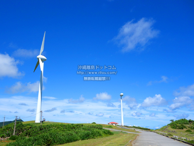東牧場の2基の風車