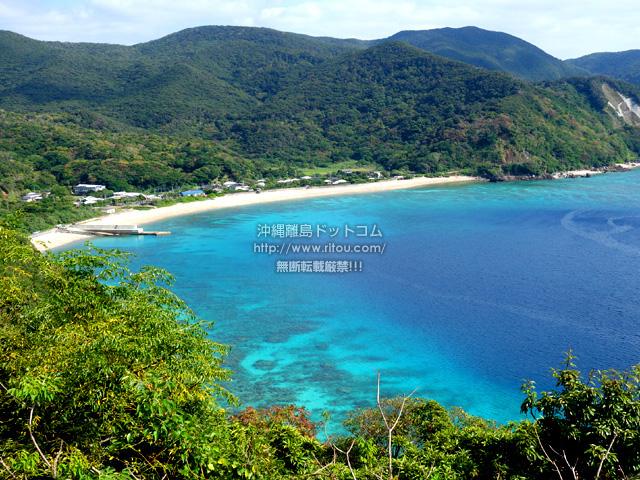 加計呂麻島の須子茂の海