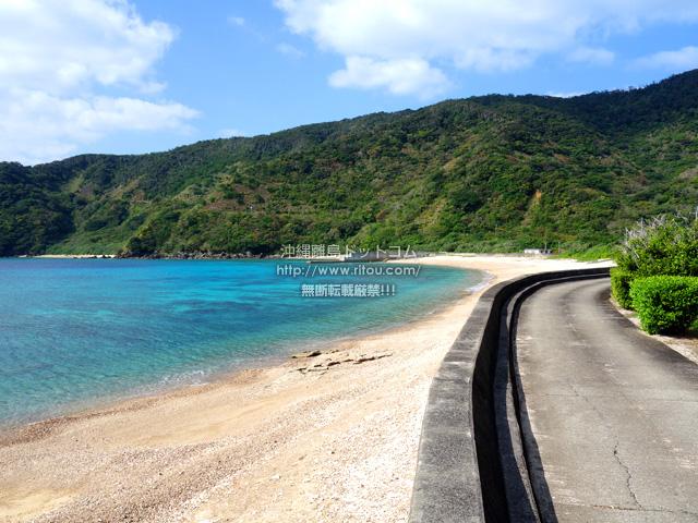 加計呂麻島の阿多地の海