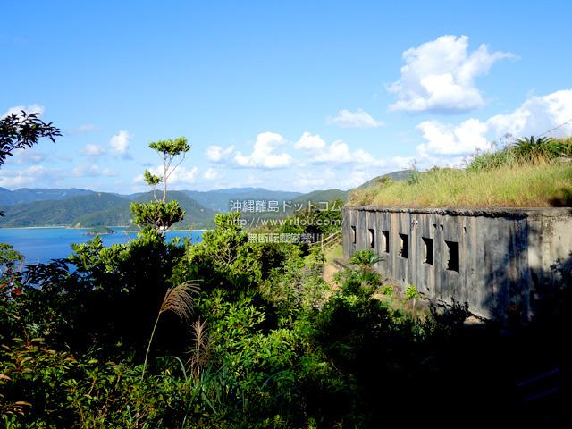 加計呂麻島の安脚場戦跡
