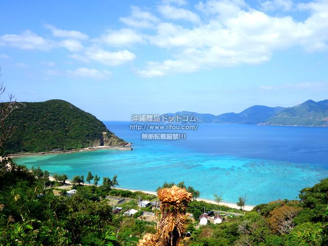 加計呂麻島の実久海岸絶景ポイント