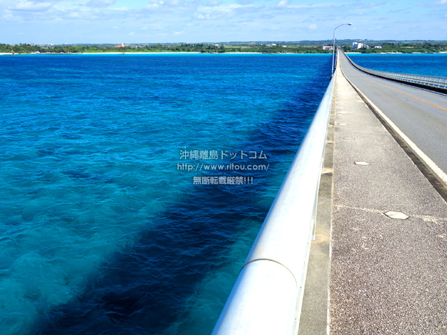宮古島の来間大橋