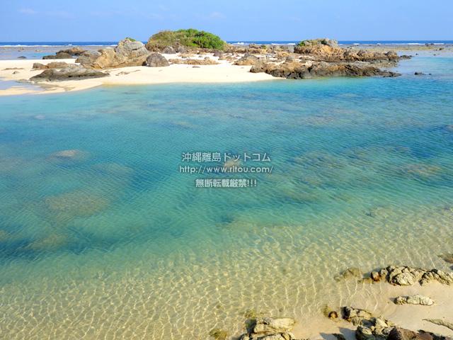 奄美大島の土盛海岸南