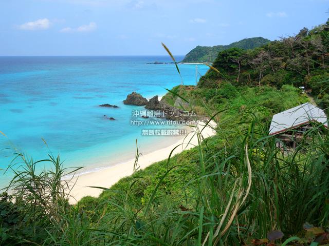 奄美大島の崎原手前のプライベートビーチ