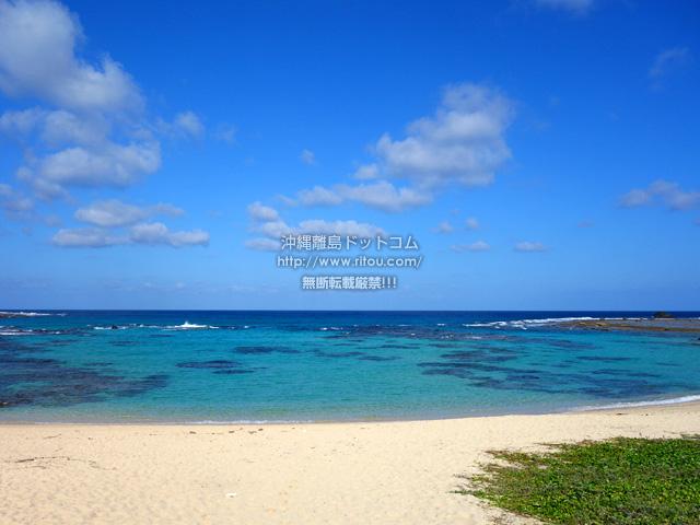 奄美大島の土盛海岸/ビーチ