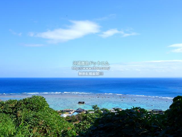 奄美大島の用展望台/休憩所