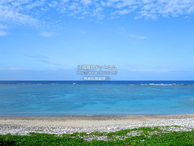 奄美大島の渡連海岸