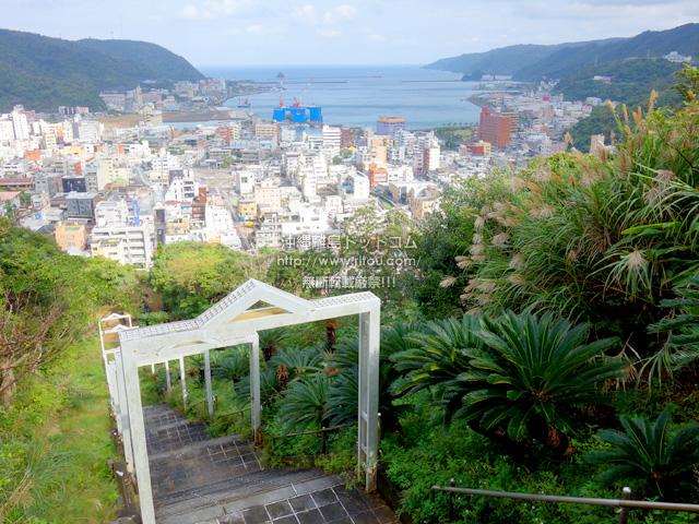 奄美大島のおがみ山公園/展望広場/行幸広場