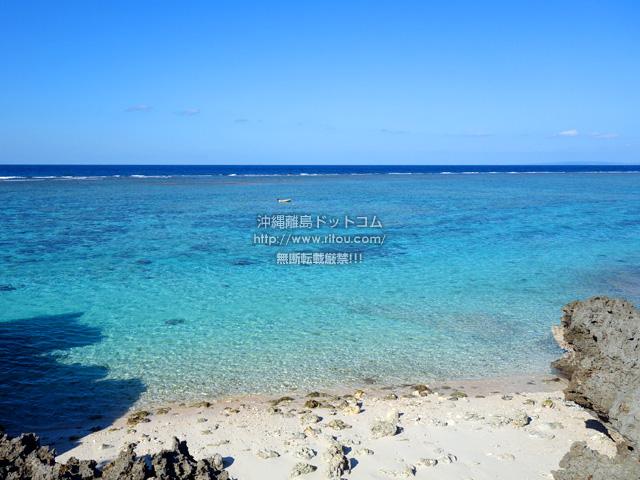 与論島の宇勝海岸