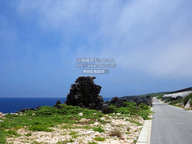 北大東島のゴリラ岩/奇岩