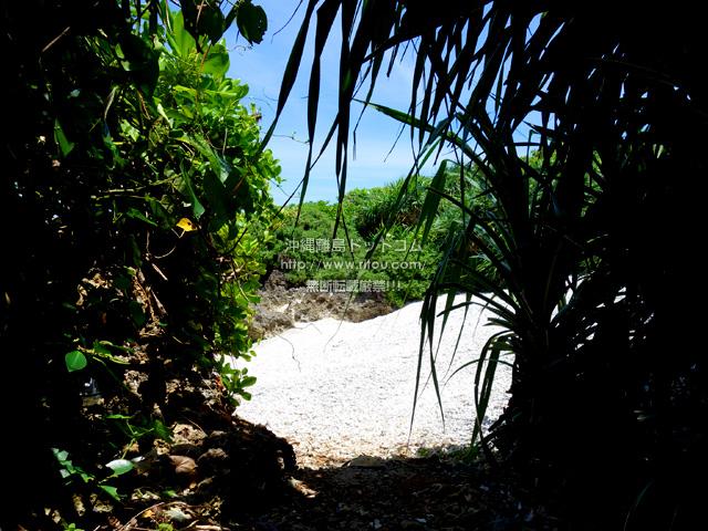 波照間島の毛ビーチ/珊瑚の殻ビーチ/サンゴの浜