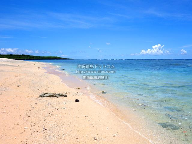 波照間島のペムチ浜/ベムチ浜
