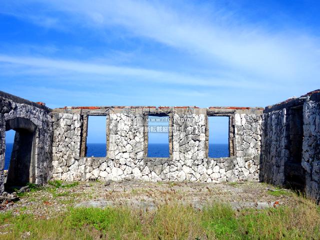 南大東島の旧ボイラー小屋