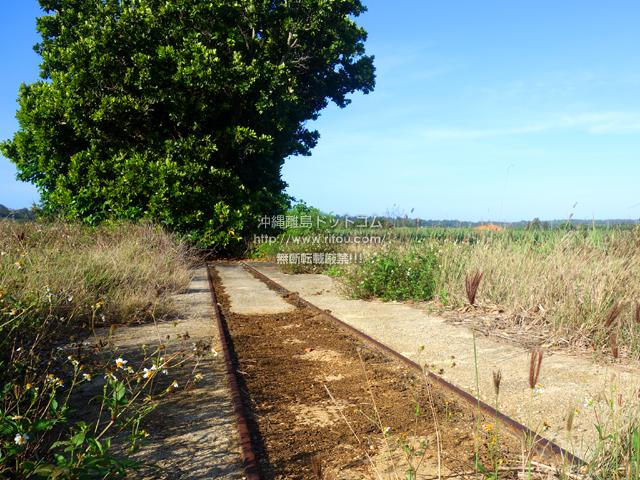 南大東島の旧東レール