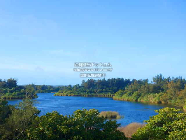 南大東島の大池