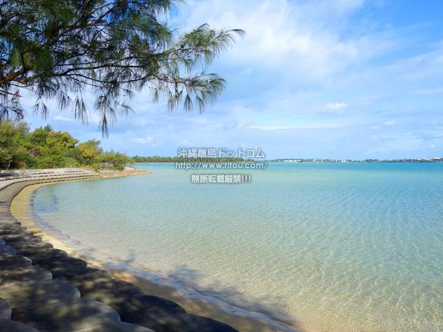 宮古島のサニツ浜