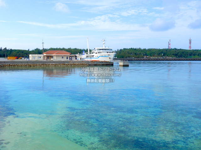 多良間島の前泊港/シードリームたらま/旅客ターミナル