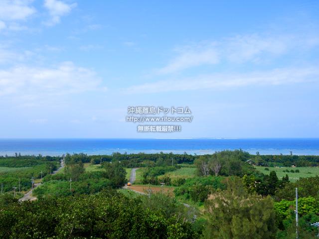 多良間島の八重山遠見台展望台/展望タワー