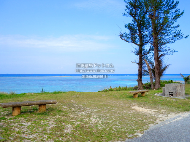 多良間島のトゥガリ゜ラトゥブリ/ふる里海浜公園