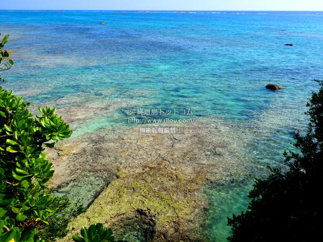 多良間島のメモリアルビーチ/タカアナ/アガリ゜タカーナ