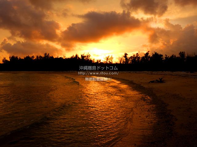 宮古島のクウラビーチ/久浦ビーチ