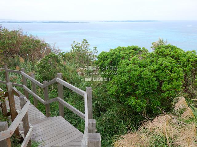 大神島の遠見台/トゥンバラ
