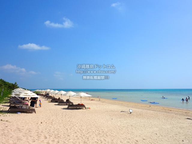 小浜島のはいむるビーチ/はいむるぶしビーチ