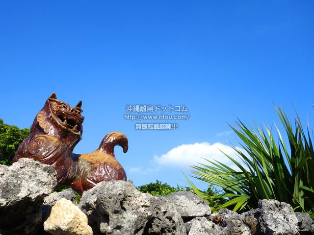 竹富島のなごみの塔からの景色