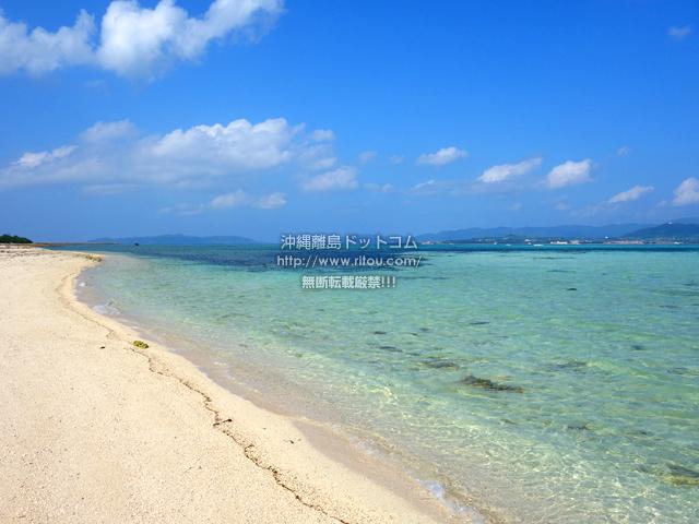 竹富島のナーラサ浜