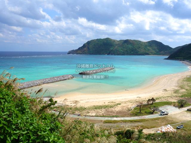 渡名喜島の東り浜/あがりはま