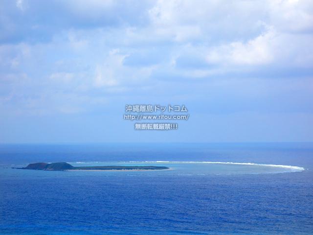 渡名喜島の入砂島/ちゅらさんオープニングの島