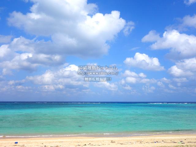 渡名喜島のアンゼーラ浜/アンジェーラ浜