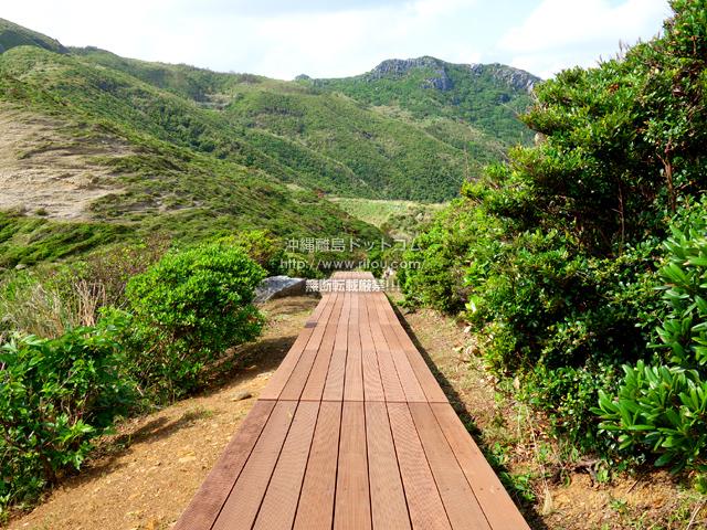 渡名喜島の島尻毛