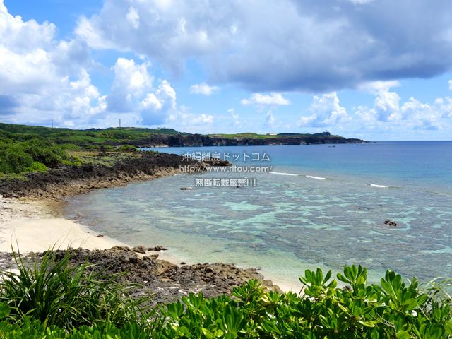 与那国島のダンヌ浜