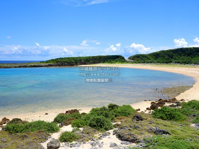 与那国島のカタブル浜