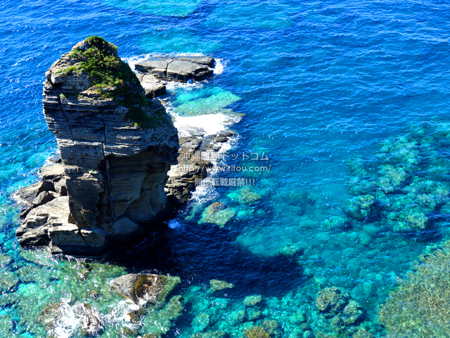 与那国島の立神岩/頓石/とんいし