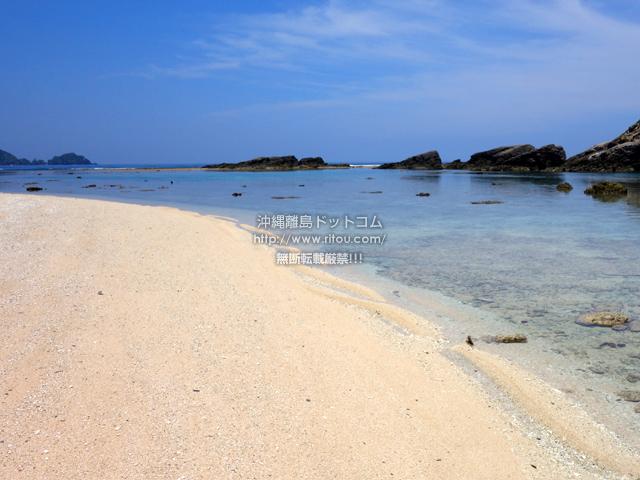 阿嘉島の後原ビーチ/クシバルビーチ